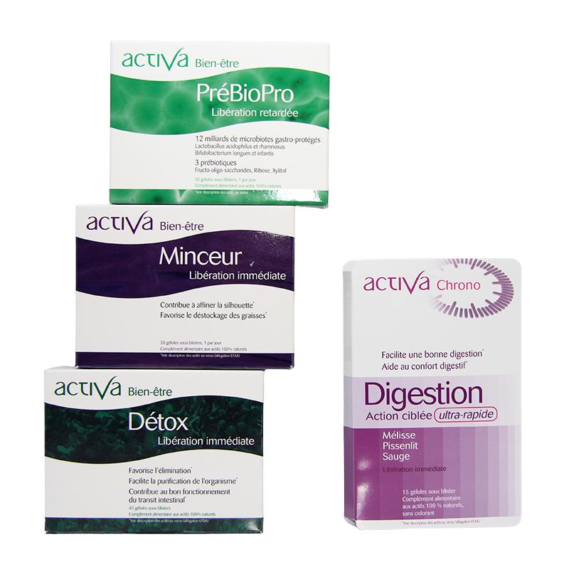 Pack bonnes resolutions Compléments Alimentaires Activa| Produits Nutritifs