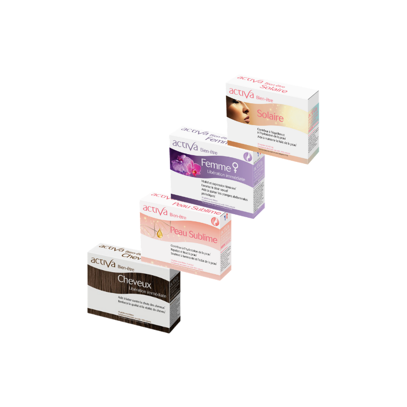 Complément Alimentaire Activa Pack Beauté  Produits Nutritifs