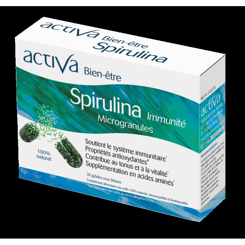 Complément Alimentaire Spirulina Activa Bien-Être | Produits Nutritifs
