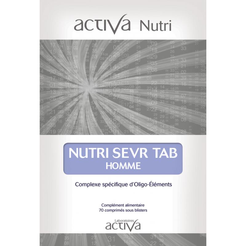 Complément Alimentaire Sevr Tab Homme Activa Nutri | Produits Nutritifs