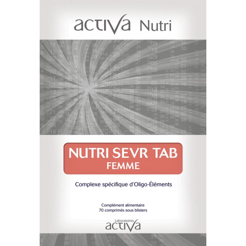 Complément Alimentaire Sevr Tab Femme Activa Nutri   Produits Nutritifs