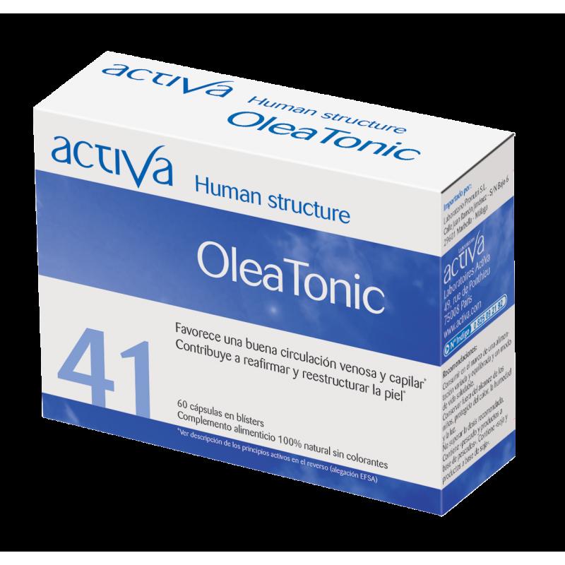 Complemento Alimenticio OleaTónic Cerebral Activa Human Structure | Produits Nutritifs