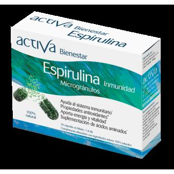 Complemento Alimenticio Espirulina Activa Bienestar | Produits Nutritifs