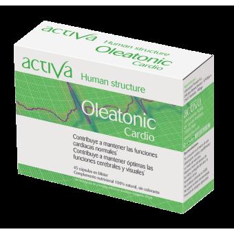 Complemento Alimenticio OleaTónic Cardio Activa Human Structure | Produits Nutritifs