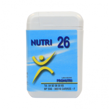 Complexes Oligo-Métaux Nutri 26 | Produits Nutritifs