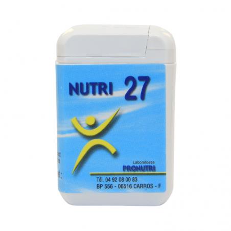 Complexes Oligo-Métaux Nutri 27 | Produits Nutritifs
