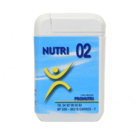 Complexes Oligo-Métaux Nutri 02 | Produits Nutritifs