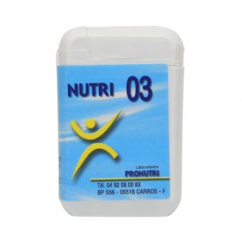 Complexes Oligo-Métaux Nutri 03   Produits Nutritifs