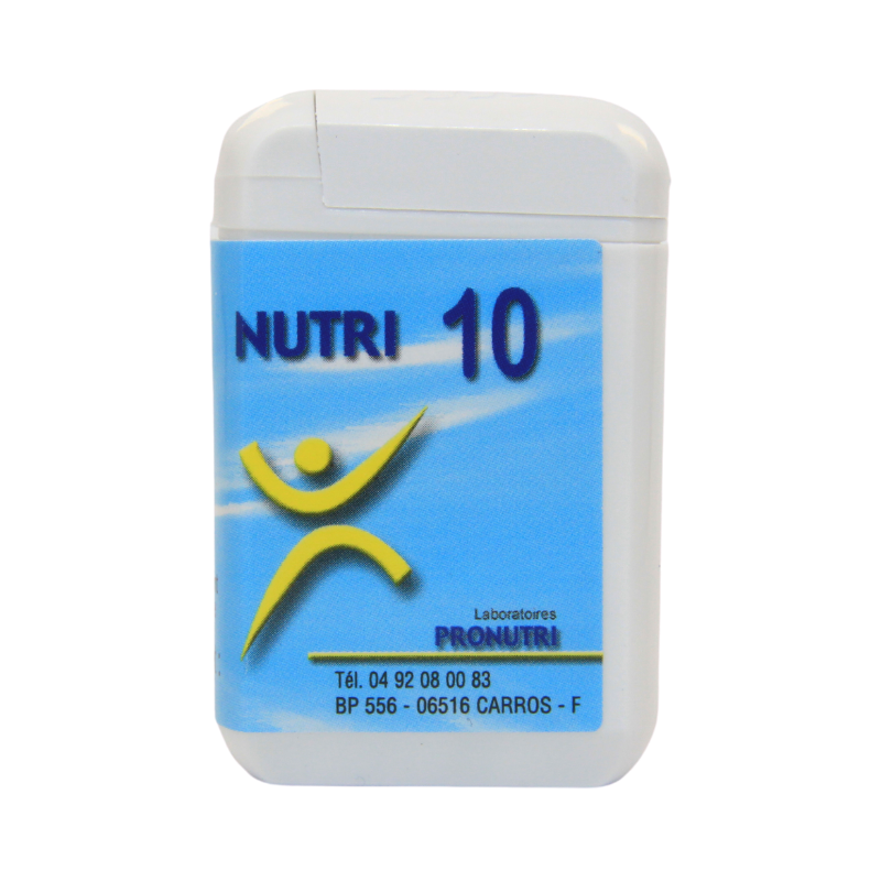 Complexes Oligo-Métaux Nutri 10   Produits Nutritifs