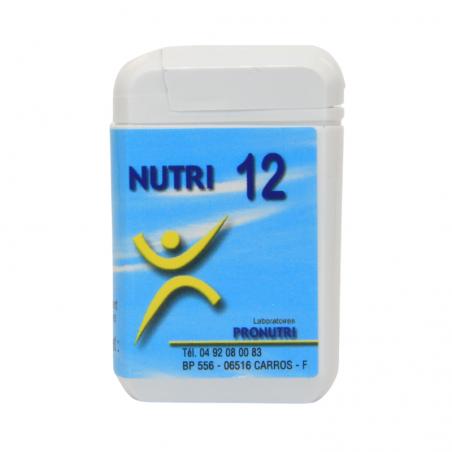 Complexes Oligo-Métaux Nutri 12 | Produits Nutritifs