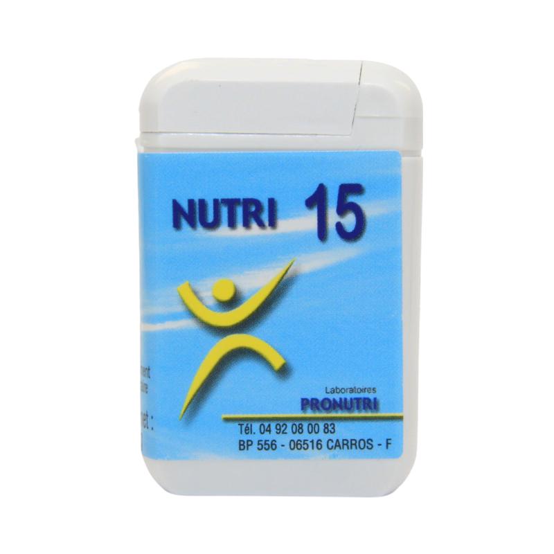 Complexes Oligo-Métaux Nutri 15 | Produits Nutritifs