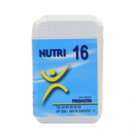 Complexes Oligo-Métaux Nutri 16 | Produits Nutritifs