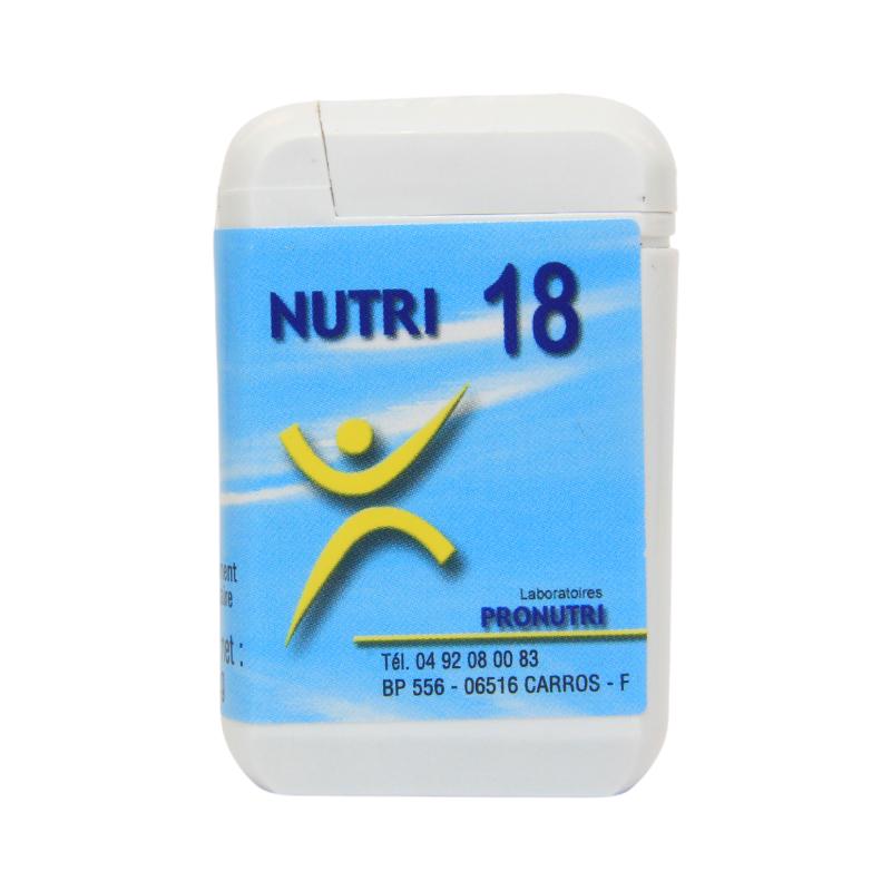 Complexes Oligo-Métaux Nutri 18 | Produits Nutritifs