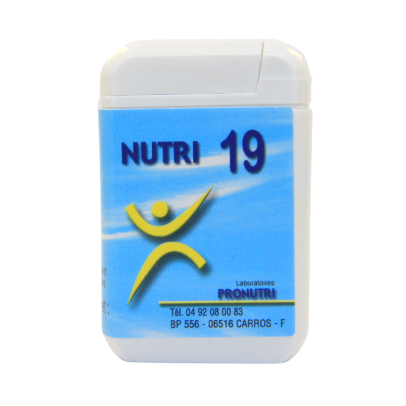 Complexes Oligo-Métaux Nutri 19   Produits Nutritifs