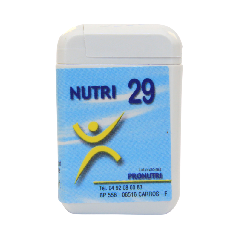 Complexes Oligo-Métaux Nutri 29 | Produits Nutritifs
