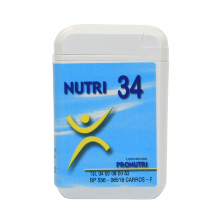 Complexes Oligo-Métaux Nutri 34 | Produits Nutritifs