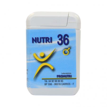 Complexes Oligo-Métaux Nutri 36   Produits Nutritifs